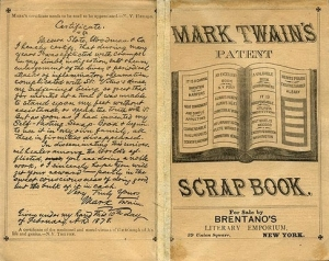 mark twain scrapbook