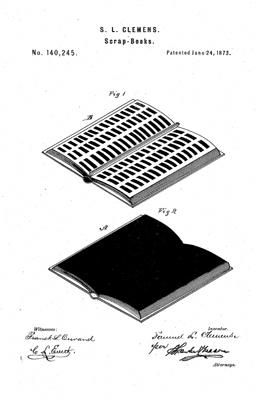 mark twain patent