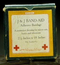 Band-Aid box