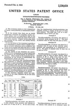 Teflon Patent