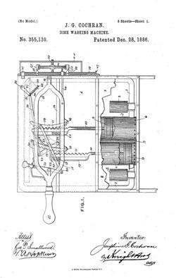 Dishwasher Patent