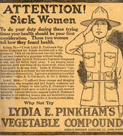 Pinkham Vegetable Compound