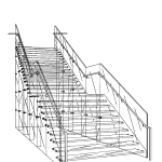 Jobs left no detail unnoticed when designing the staircase for Apple Stores.