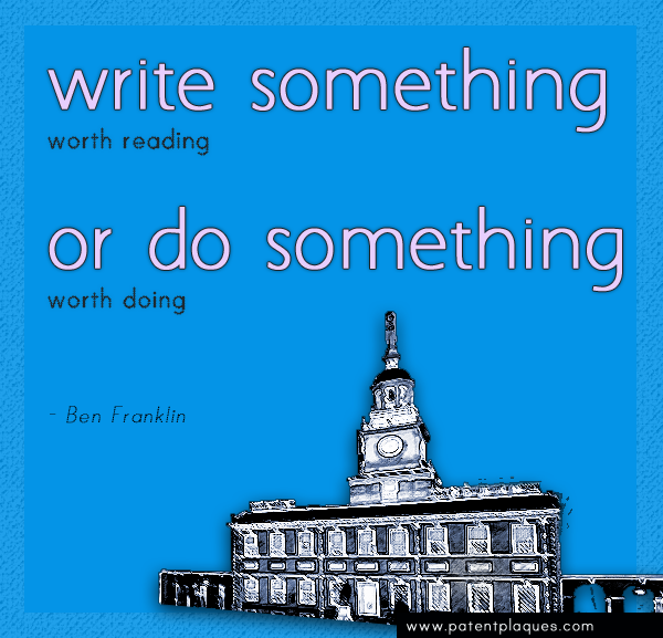 Franklin: Do Something Worth the Writing