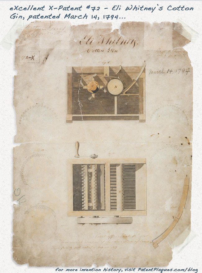 Eli Whitney's cotton gin: important, useful, and highly controversial