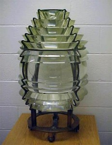 Augustin-Jean Fresnel's Prism Crystal Glass