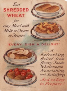 Old Shredded Wheat Ad