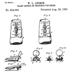 The Zipper Patent - Whitcomb L. Judson