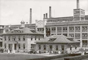 Hershey Chocolate Factory 1905 - thehersheycompany.com