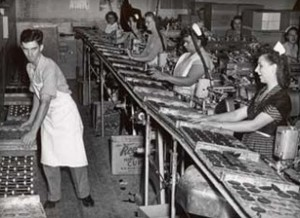 Hershey's First Chocolate Factory Employees