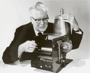 Chester Carlson and the invention of Xerography