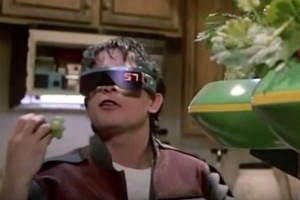 Smart Glasses from Back to the Future