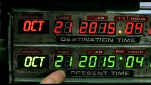Back to the Future - Count Down to October 21, 2015